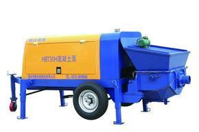 烟台德赛HBT30H混凝土泵