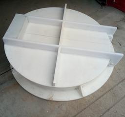HDPE拍门 高密度聚乙烯拍门