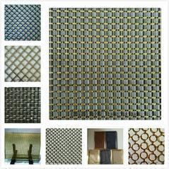 建筑金属幕墙装饰网不锈钢装饰网帘价格