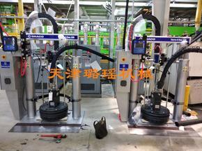 原装美国固瑞克Threm-0-Flow20标准50升桶压盘式自动热熔胶机