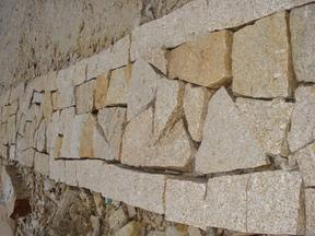 GCCY864锈色花岗岩乱形地铺石