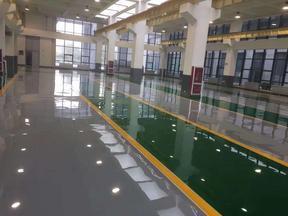 临沂河东环氧树脂地坪漆厂家根据需求设计施工方案