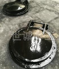 排水管道铸铁闸门管道拍门厂家订货