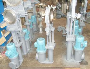 PZ273X电液动耐磨灰渣阀