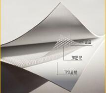 TPO高分子自粘防水卷材