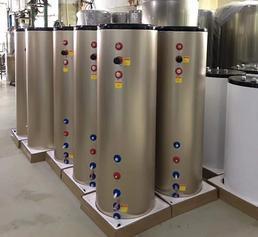 燃气壁挂炉专用盘管换热保温换热水箱