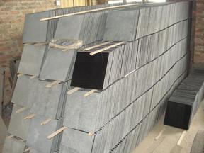 黑色火山岩磨光板