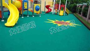 户外塑胶跑道篮球场塑胶地垫EPDM运动地胶现浇施工