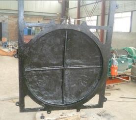 信誉度较高厂家前进水工批量生产铸铁镶铜圆闸门MXY/PZM