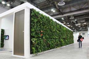 探讨通风对植物墙的一个重要性—房地产植物墙