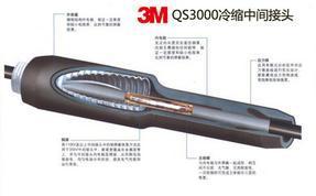 供应销售冷缩3M35KV冷缩电缆三芯中间接头