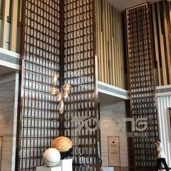 酒店装饰不锈钢屏风隔断厂家生产定制