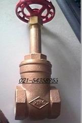 FIG.408-砲金銅昇桿式閘閥
