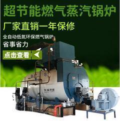 低氮CWNS10-1.25卧式三回程蒸汽燃气锅炉