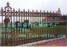 铸铁围墙铸铁栏杆 山东临朐福特机械铁艺厂