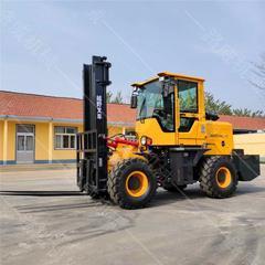 厂家直销工程四驱叉车 3吨内燃柴油叉车 多功能一体式叉车