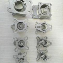 厂家直销塑料球阀支架连轴器304球阀支架联轴器台炜环琪球阀支架