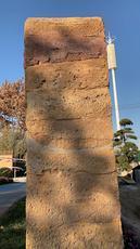 浙江杭州夯土景观墙园林装饰夯土墙墙面装饰公司