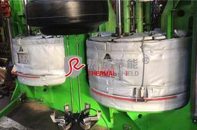 硫化机上热板节能隔热被