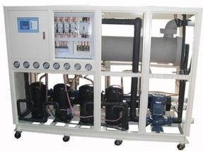 电镀氧化用耐腐蚀水冷冷水机