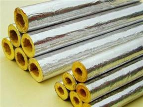 玻璃棉管、铝箔玻璃棉保温管
