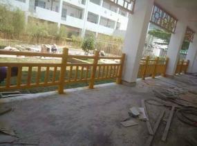 新农村景观打造仿竹栏杆 水泥仿竹栅栏