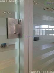 上海固定隔断,成品隔断,双层玻璃隔断