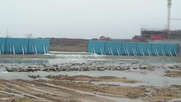 青阳坝80米长4米高