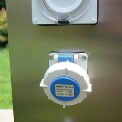 指印ZDW-04智能水电桩 房车营地水电桩 游艇码头岸电箱 户外充电桩