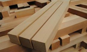 樟子松防腐木板材加工
