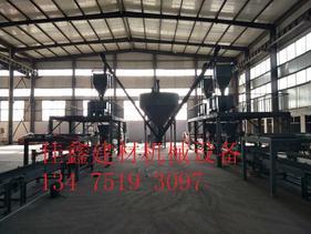 FS外墙免拆一体化保温板生产线jx-018
