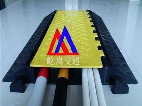 橡胶室外大孔径单线槽 屹岚牌微型线槽减速板