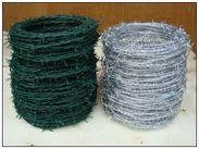 青山镀锌刺绳围栏网厂家/新洲包塑刺绳价格