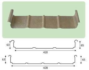 铝镁锰屋面板YX65-430型