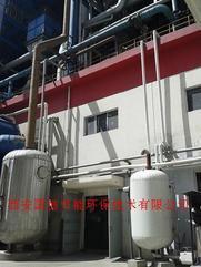 锅炉定期排污扩容器排汽回收