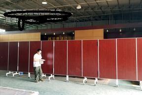 西安厂家落地折叠移动屏风隔断