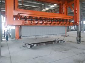 加气混凝土地翻线改造地翻切割机改造空翻双摆动翻转去废料