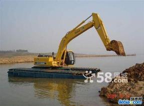 改装水陆两用挖掘机 出租挖掘机