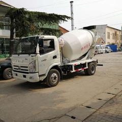 小型环保跃进底盘4立方混凝土搅拌罐车 混凝土搅拌运输车 效率高