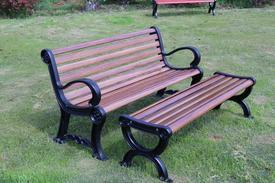 西安高分子长纤维玻璃钢复合材料公园椅厂家供应