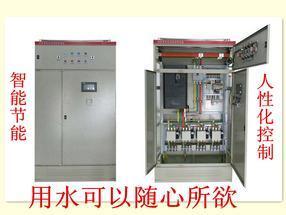 北京实体店 恒压供水不锈钢水罐控制箱 生活给用水 变频调速控制柜