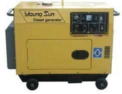 3KW(低噪音)小型风冷柴油发电机组