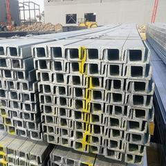 天津镀锌槽钢厂家 12#镀锌槽钢批发 热镀锌槽钢多少钱一吨