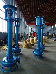 立式液下排污泵 液下长轴泥浆泵 无堵塞长杆泵