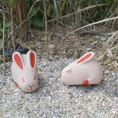 花岗岩兔子宠物石MAB523