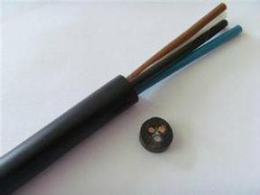 耐高温控制电缆KFF 2x1.0mm2 氟塑料电缆