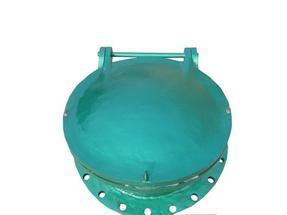 铸铁拍门DN500mm