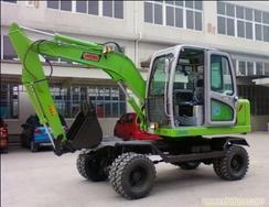 小型轮式360度挖掘机http://www.zgxyjx.com