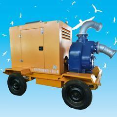 8寸柴油机排污泵