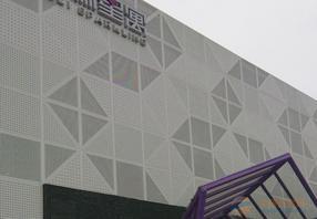 喀什铝单板幕墙吊顶雨棚送货定做